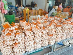 蒜頭每斤200元 降價等明年春
