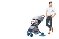 全台首台 嬰兒手推車可主動煞車