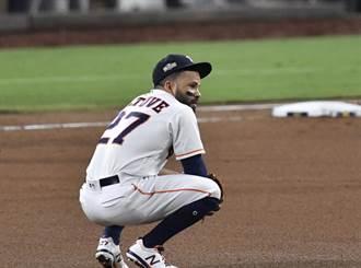 MLB》阿土伯G4仍是二壘手 太空人拚3%逆轉可能