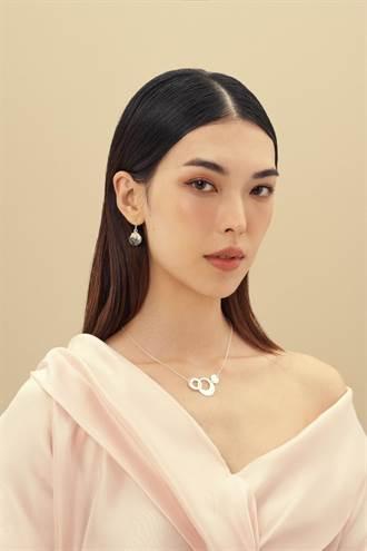 伊林娛樂跨界流行飾品 名模王思偉最愛珍珠母貝飾品