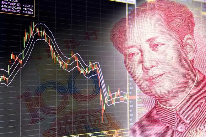 大陸股市總市值近日再度突破10兆美元規模。(shutterstock)