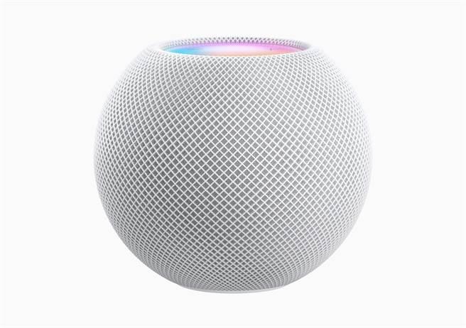 蘋果在第二場秋季發表會發表HomePod mini。(摘自蘋果官網)