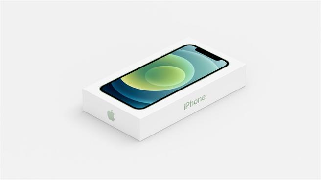 蘋果發表會中展示了移除EarPods有線耳機以及充電器的iPhone 12系列包裝盒,相比過去體積縮小不少。(摘自蘋果官網)
