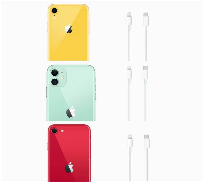 包裝內移除EarPods有線耳機以及充電器的政策,也適用於iPhone XR、iPhone 11以及iPhone SE。(摘自蘋果官網)