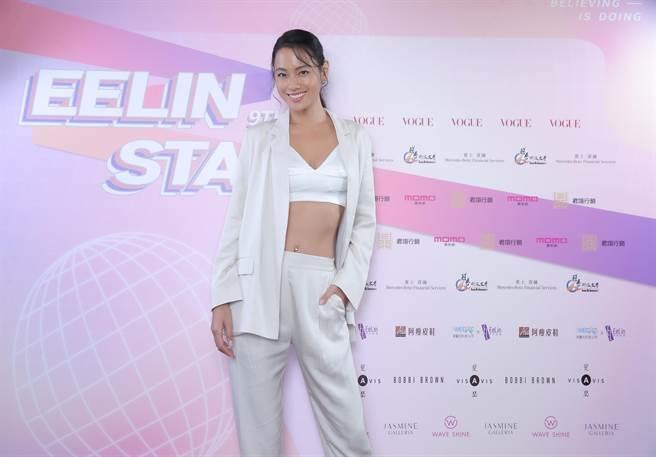 運動名模王麗雅曾擔任璀璨之星海選評審。(伊林娛樂提供)
