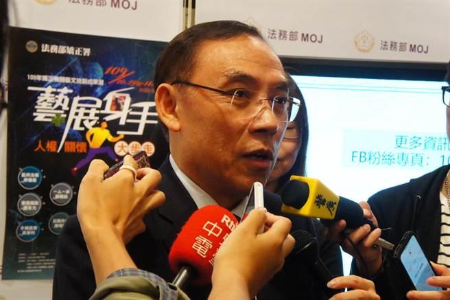 蔡清祥表示,劉承武的惡形惡狀丟了檢察官的臉,讓外界對檢察官形象打了折扣。(蔡雯如攝)