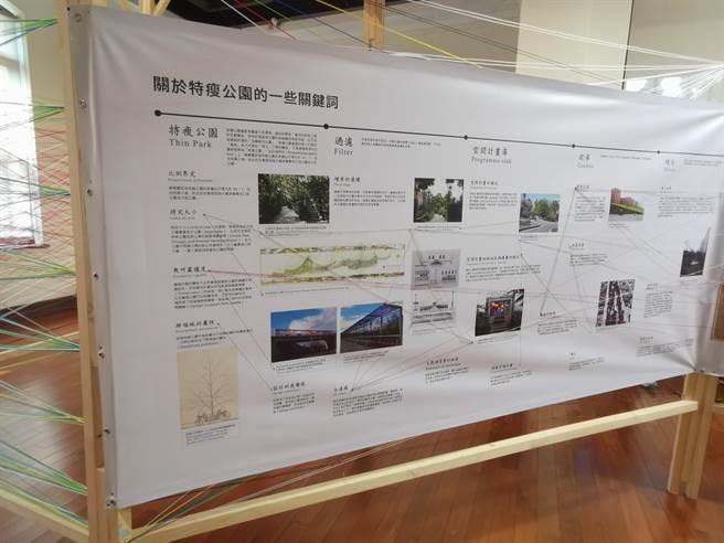 台南市总爷艺文中心即日起至12月20日推出「厚、薄、冷、暖:青绿轴带的身体地理学」展览。(刘秀芬摄)