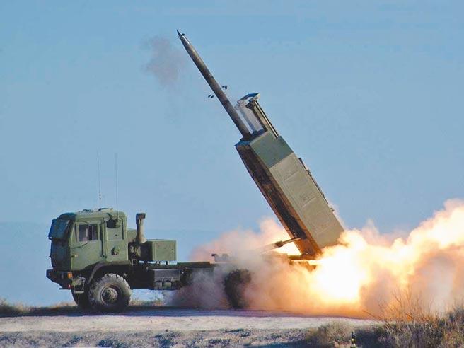 圖為M142(HIMARS)高機動性多管火箭系統。(摘自美國陸軍官網)