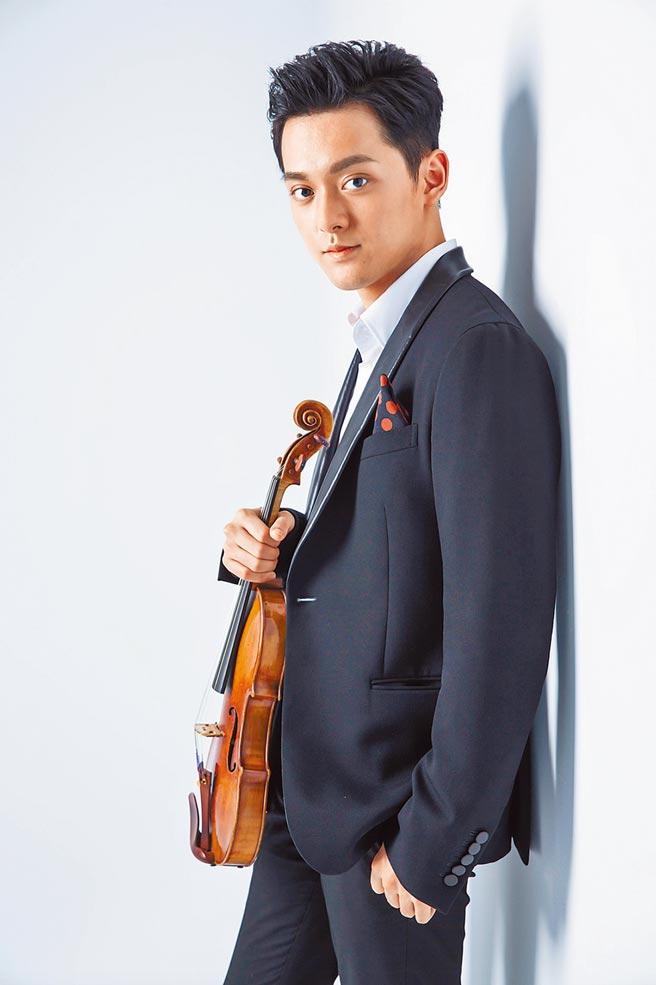 柴可夫斯基大賽得主曾宇謙,將挑戰演奏全場巴哈小提琴曲。(牛耳藝術提供)