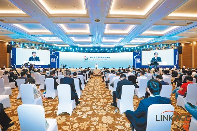第三屆數字中國建設峰會12日於福州海峽國際會展中心開幕。(主辦方提供)