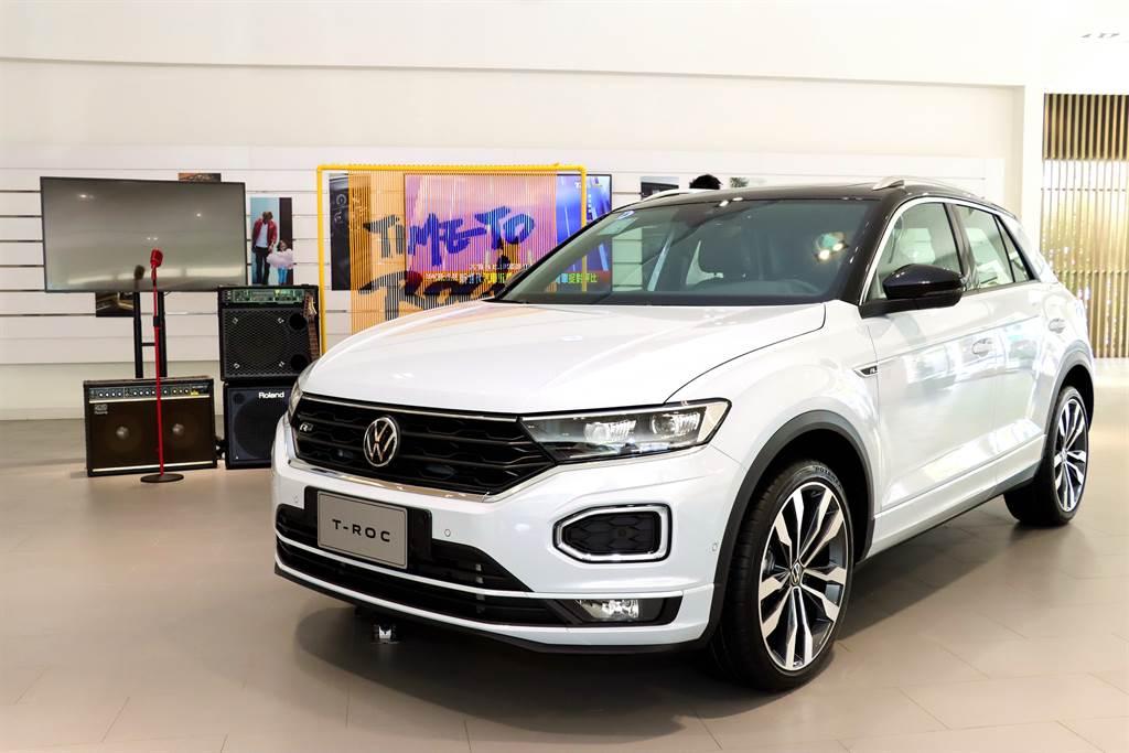 軍武級鋼板強化車體結構 全方位安全科技守護乘員 Volkswagen T-Roc全台搖滾巡迴中