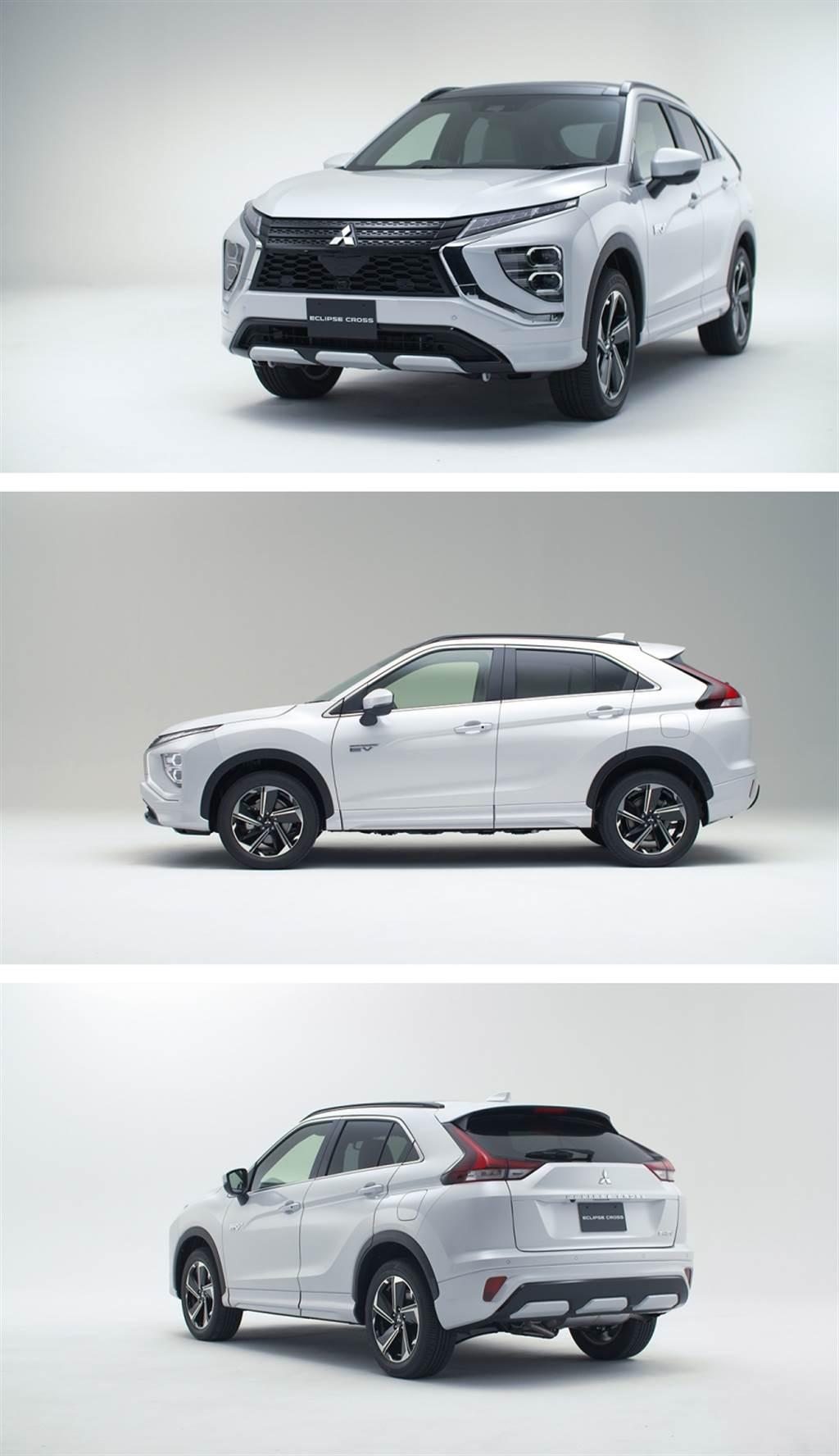 加長140mm、外觀全面升級,Mitsubishi Eclipse Cross 小改款 12 月發表