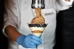 〈獨〉夠浮誇!晶華「拉麵系甜點」超給「栗」