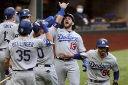MLB》首局3轟11分創紀錄 道奇血洗勇士搶回1勝