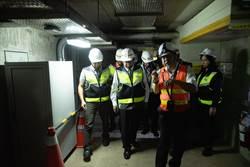 高鐵桃園站、航空城共同管道設備更新 明年初完工