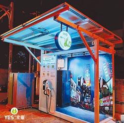 Go電綠能充電站 智慧能源週亮相