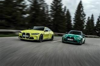 鼻孔大是為了高性能 全新BMW M3/M4激情四射