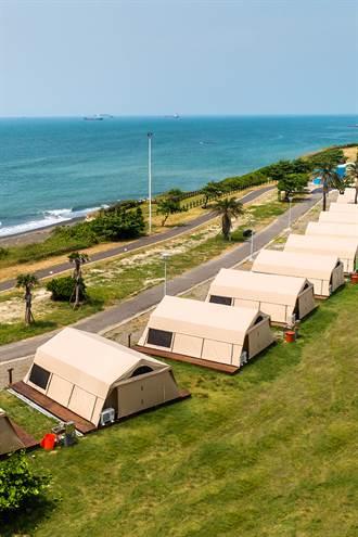秋日觀星吹海風 到海邊露營去