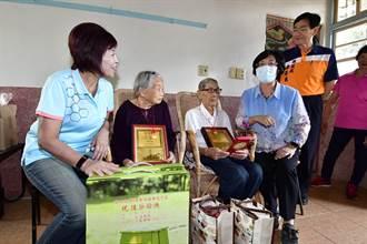 訪百歲夫妻檔討教長壽秘訣 王惠美要讓彰化成為幸福長壽縣