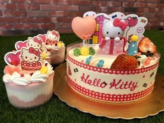 搶肖像經濟商機 85度C Hello Kitty蛋糕開賣