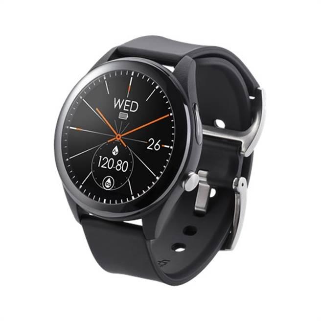 華碩智慧手表ASUS VivoWatch SP,成功導入秀傳醫院的高級健檢服務。(圖/華碩提供)