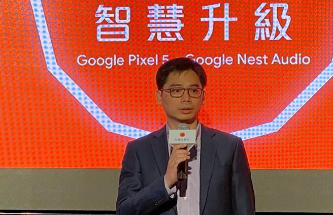 Google硬體副總裁彭昱鈞。(黃慧雯攝)