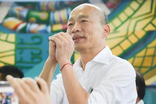 前高雄市長韓國瑜。(資料照,林宏聰攝)