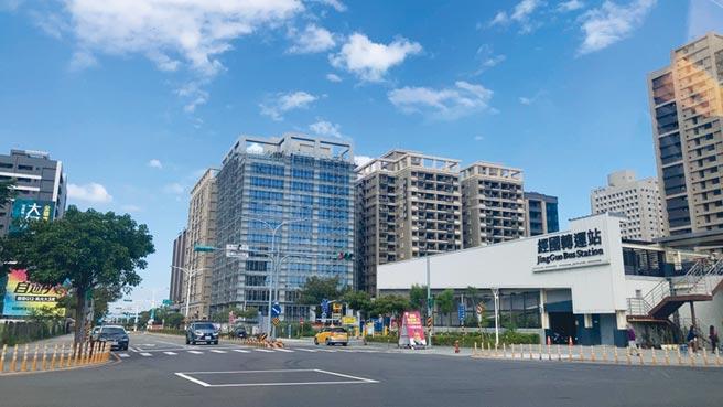 桃園商辦指標案「中悦商貿中心」尚未公開,銷售率即達七成。圖/中悦提供