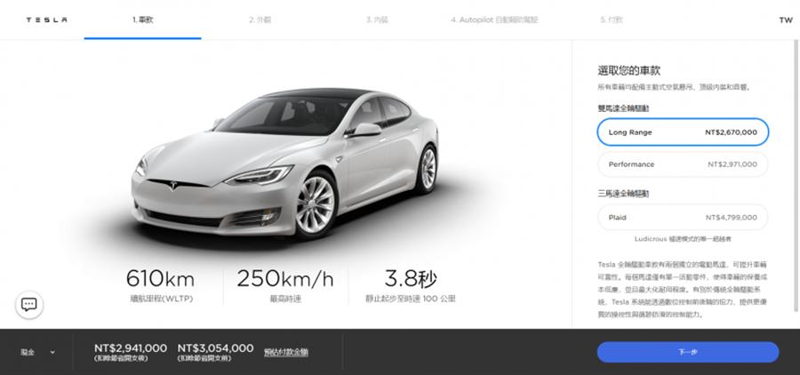 特斯拉 Model S 美國售價將降價到台幣兩百萬有找:為了與 Lucid Air 正面對幹