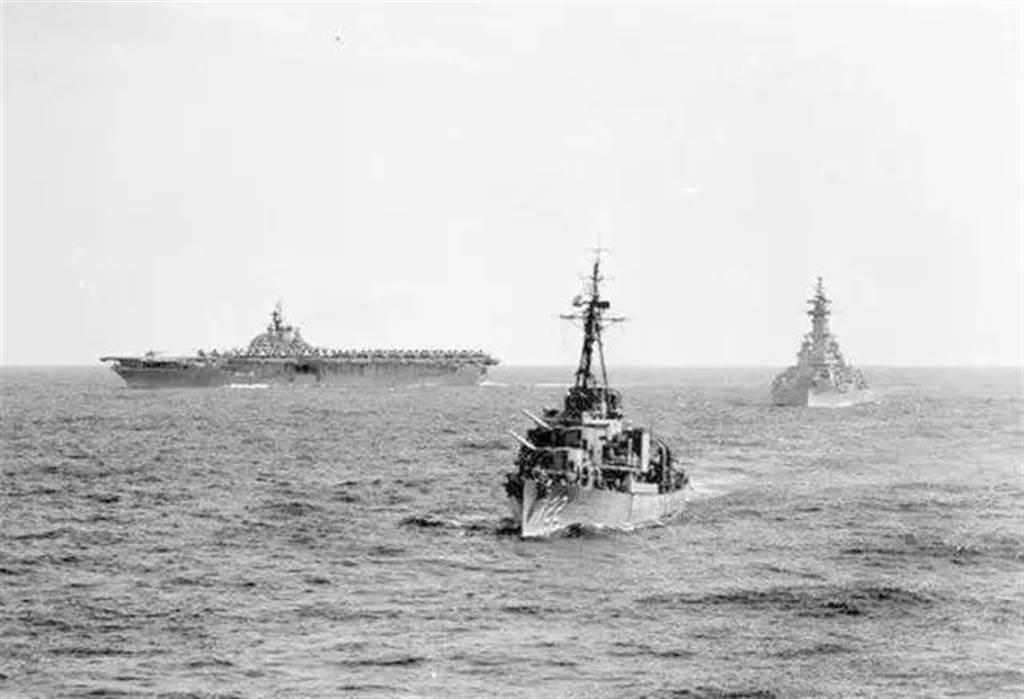 韓戰爆發讓美國決定派第7艦隊(圖)巡弋台海,阻止兩岸利用韓戰期間挑起台海戰事。(圖/公開檔案)