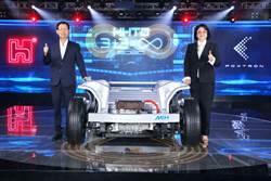 《其他電子》首屆鴻海科技日 EV開放平台、關鍵零組件亮相