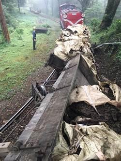 工程車翻覆!阿里山林鐵神木線預計後天中午恢復行駛
