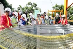 解決六甲175線崩塌老問題 台南首次開鑿「大口徑集水井」