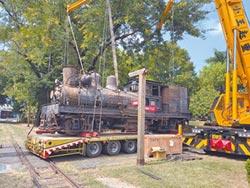 百歲21號蒸汽火車 進廠修修臉