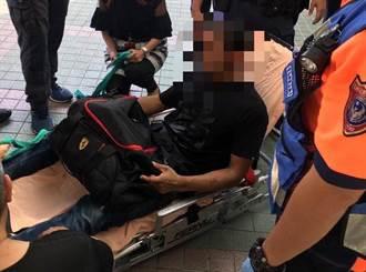 男子持西瓜刀闖台南市衛生局 警強制送醫