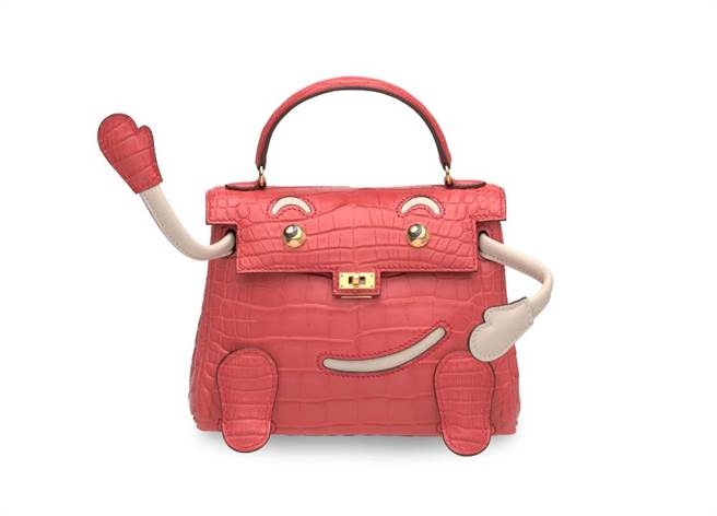 超可爱的凯莉娃娃QUELLE IDOLE包,起拍价35万港币。(品牌提供)