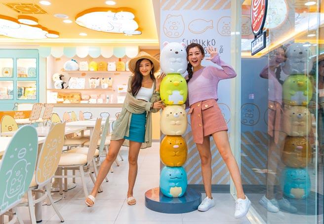 7-ELEVEN在台北市大同區打造全台首間「7-ELEVEN-角落小夥伴主題店」,以獨特空間體驗及限定商品吸客。圖/業者提供