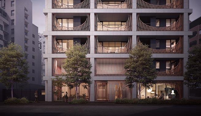 大陸建設天母預售新案「鐫月」,請來的「Neri&Hu如恩設計研究室」全案設計,在一線豪宅營建硬實力基礎上,以國際級的風格品味吸引天母客。圖/業者提供