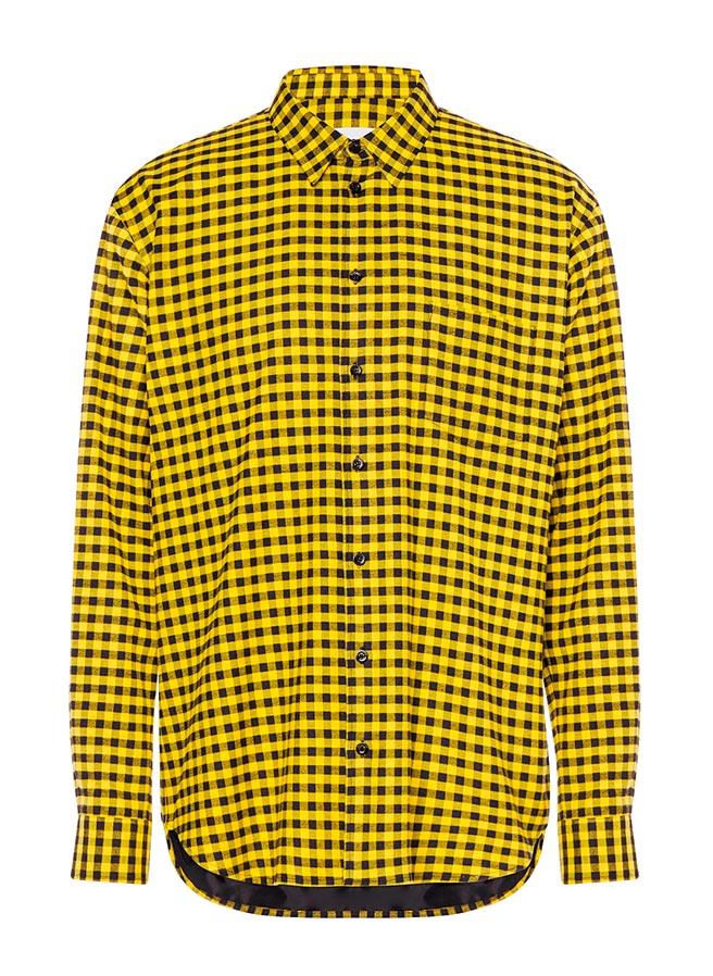 Moschino格紋襯衫,2萬8800元。(Moschino提供)