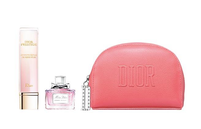 比漾廣場Dior迪奧精萃再生微導眼凝萃組,5580元,滿2000送200外,比漾聯名卡獨家加贈100元贈品券,限量5份。(比漾廣場提供)