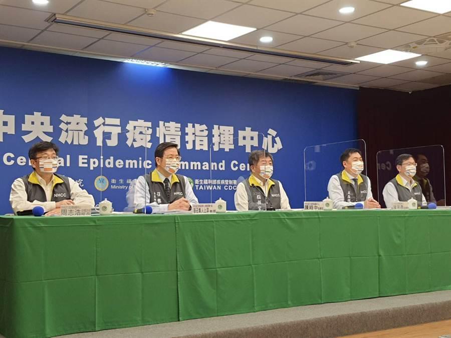 迎戰新冠肺炎疫情,指揮中心11月中宣布秋冬專案。(資料照,陳人齊攝)