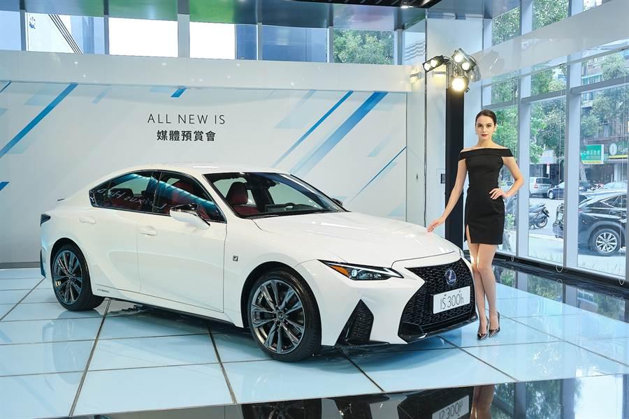 大降40萬!全新改款2021 Lexus IS 190萬起預售