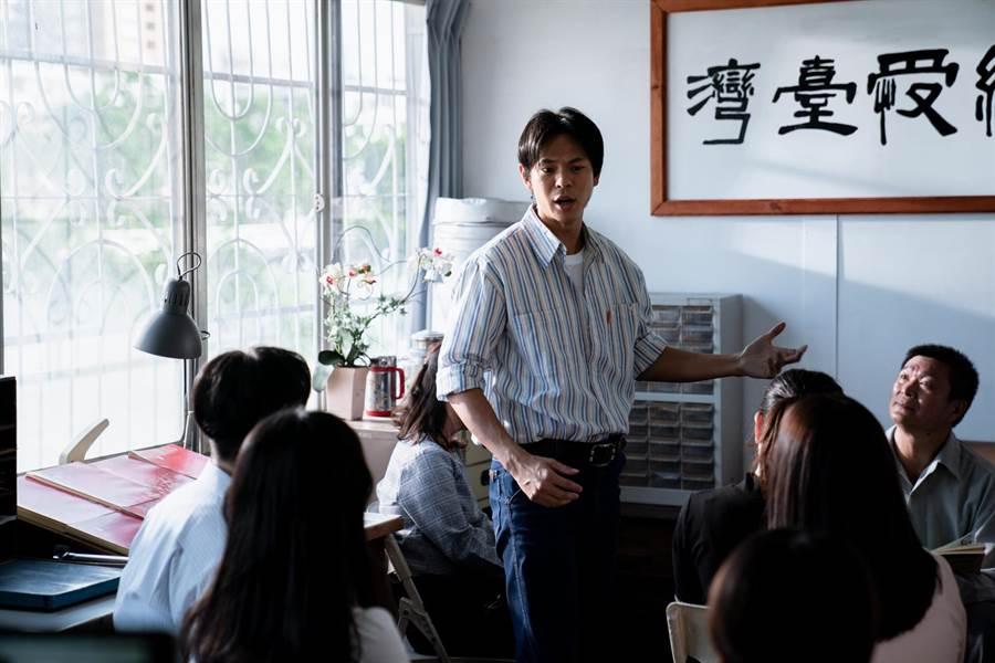孙绽剧中饰演陈妤的哥哥。(公视台语台提供)