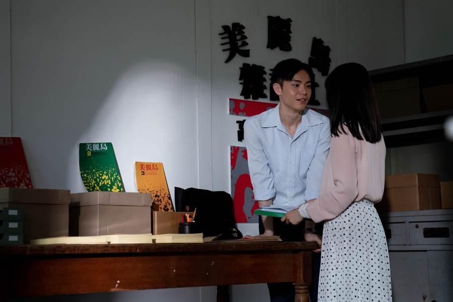 徐宇霆饰演职业学生志祥,在大学中鼓吹同学入党,个性亦正亦邪让人难以捉摸。(公视台语台提供)