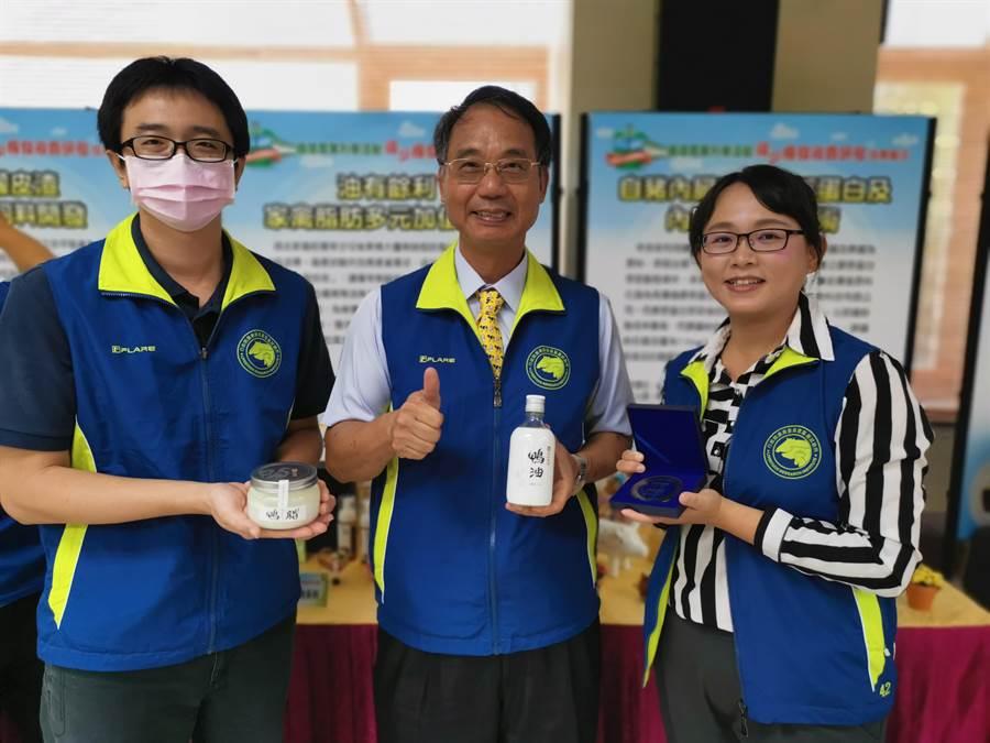 畜試所已與振聲農業科技公司合作多年,研發高單價鴨油產品,更多次獲國際美食獎。(劉秀芬攝)