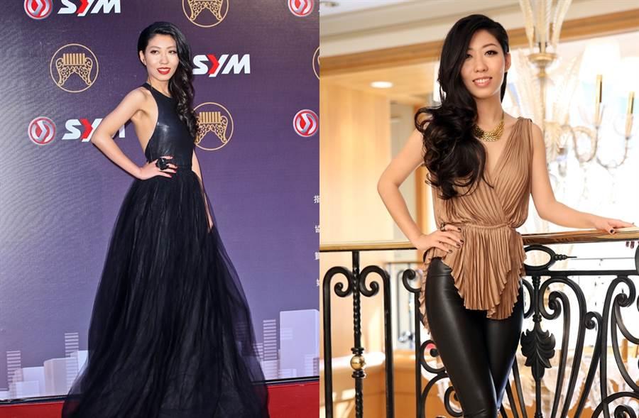 曲婉婷2014年曾来台参加金曲奖(左图)。(图/中时资料照片)