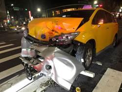 計程車離奇自撞檳榔攤 車上赫見高血壓用藥