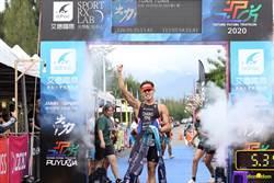 鐵人三項》改寫台灣113公里紀錄 張團畯感謝老天給好天氣