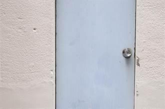 直通天國?三樓牆壁突開一扇門 內行人解密