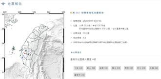 台南地牛翻身 東山區居民被嚇到
